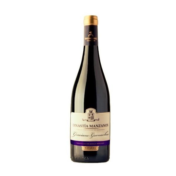 Wino Hiszpańskie czerwone wytrawne- Dinastia Manzanos Graciano Garnacha
