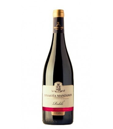 Wino czerwone z Hiszpanii- wytrawne- Dinastia Manzanos Roble