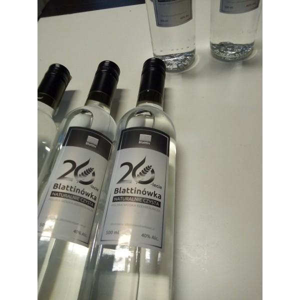 Wódka czysta 50 % naturalna bez alkoholu metylowego