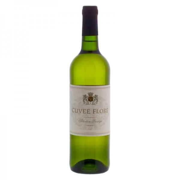 Francuskie Wino białe półwytrawne Cuvee Flore Blanc