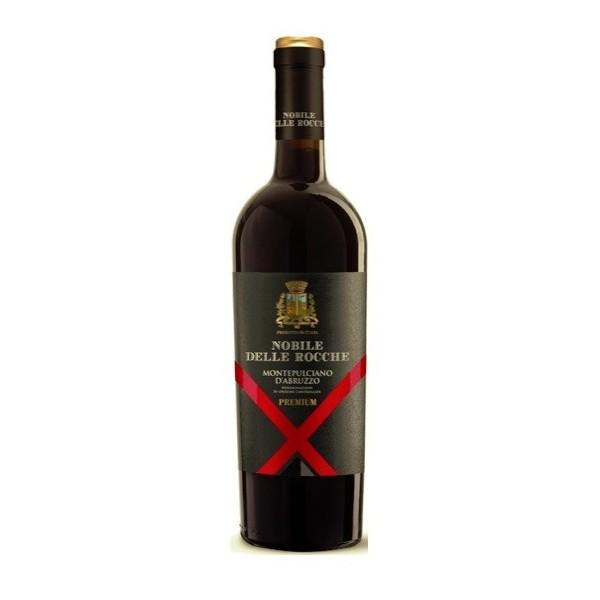 Nobile delle Rocche Premium Montepulciano d'Abruzzo Wino czerwone wytrawne