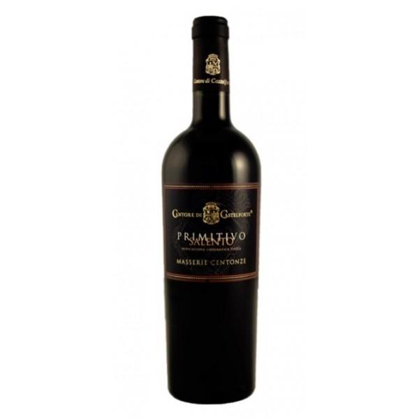 Cantore di Castelforte Primitivo Salento IGT Wino czerwone półwytrawne