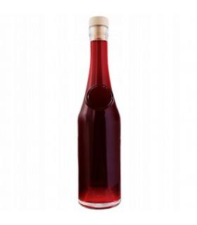 Butelka RAY 350ml z syntetycznym korkiem imitującym drewno