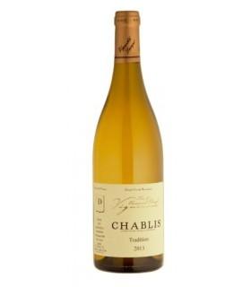Wino białe wytrawne dla firm Eric et Emmanuel Dampt Vignerons Chablis