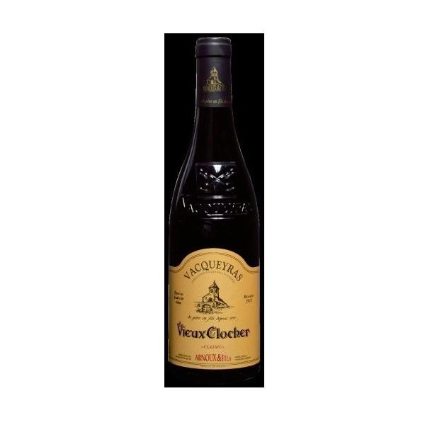 Wino z górnej półki czerwone wytrawne Arnoux et Fils Vacqueyras AOP