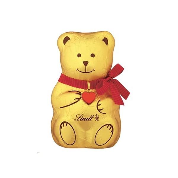 LINDT Miś figurka z czekolady mlecznej