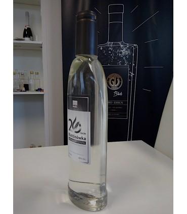 Butelka ISKRA 500ml na wódki i likiery zakrecana z kapturkiem termo kurczliwym