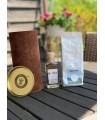 TUBA, KAWA,  ALKOHOL- zestaw prezentowy z logo