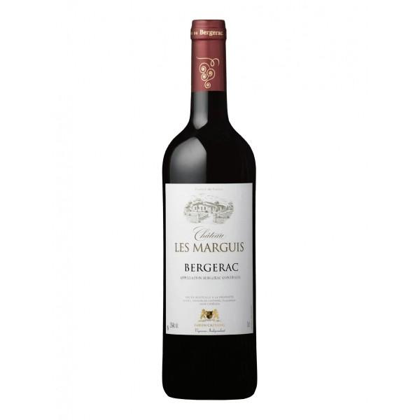 Wino czerowne wytrawne Château Les Marguis Rouge