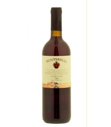 Wino czerwone wytrawne Montebelli Merlot Veneto