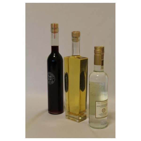 Naturalne wódki kolorowe